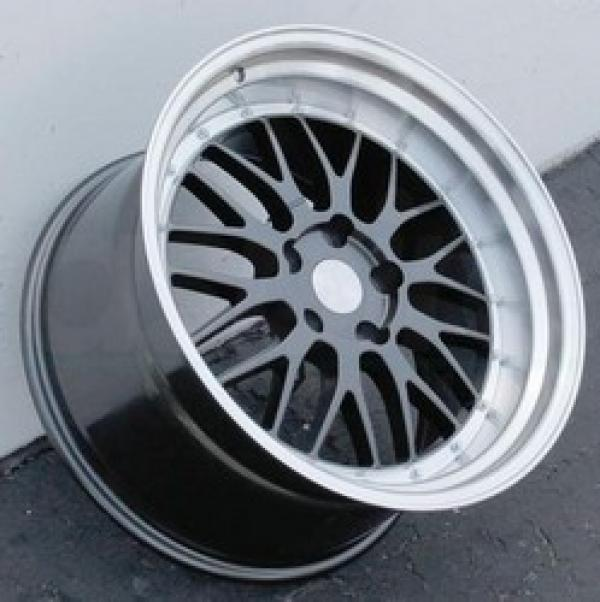 ESR SR05 GUNMETAL/MACHINE LIP  18x8.5 5x120 et30 cb72.6