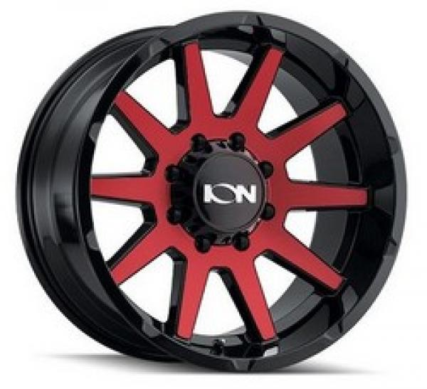 143 GLOSS BLACK/RED MACHINED